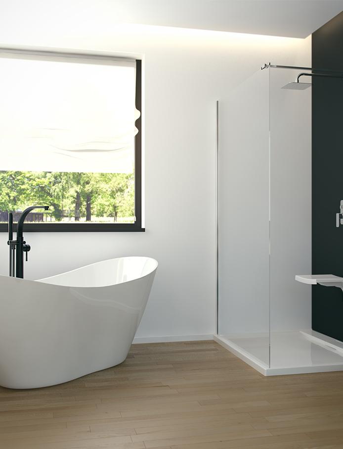 Besco akril kádak és zuhanykabinok